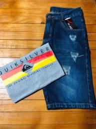 Bermudas Jeans Destroyd e Camisas Premium (Atacado e Varejo)