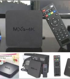 Transforme sua TV em uma Smart - Tv Box - Mxq 4k
