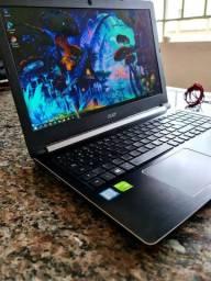 Notebook Acer com Placa de Vídeo