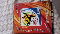 Album copa 2010 com as visa