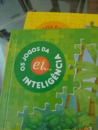 Livros escola da inteligência Ed infantil