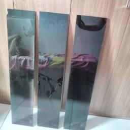 Patileiras de vidro