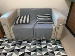 Sofa 2 lugares LE CORBUSIER em couro