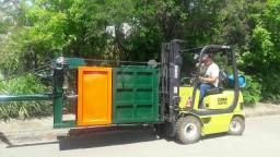 Prensas para reciclagem fardo 110x100x60
