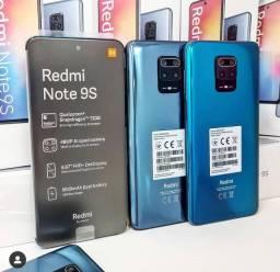 Elegância e qualidade - Xiaomi original - Redmi Note 9 S - memória de 128 gigas