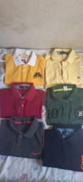 Vendo Camisas Pólo De Marca, tamanho M Em EXCELENTE estado
