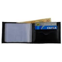 Carteira Masculina Porta Cartão Documentos Cnh