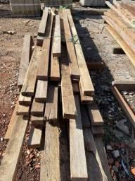 Título do anúncio: Peça de madeira mista 9x5cm R$9,90  cada metro