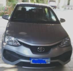 Etios Toyota ano 2018