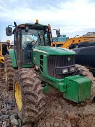 Trator Agrícola John Deere 6145j  4x4  ano 2014  12.550horas