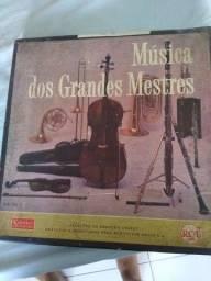 Coleção de lps de música clássica ,grandes mestres