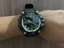 Relógio G-Shock PRETO com DOURADO!! Aprova de Água!!