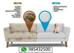 lavagem para sofá a seco (melhor opção do mercado)(informações pelo whatsapp)