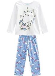 Pijama e calcinha infantil a dúzia