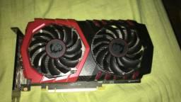Placa de vídeo GTX 1050 Ti MSI Gaming X