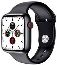 """Smartwatch Ivo W46 Tela 1.75"""" (44mm) Preto"""