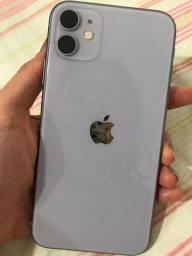 Iphone 11 lilás 128 giga