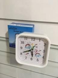 Relógio unicórnio de mesa NOVO