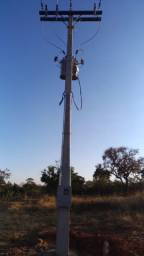 Serviço elétrico para chácaras , redes rural , loteamento