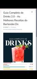 Livro de receitas de drinks
