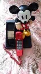 Telefone Mickey anos 90 Raridade