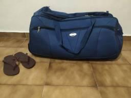 Mala Azul Para Viagens