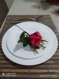 Imperdível lindos pratos para mesa posta