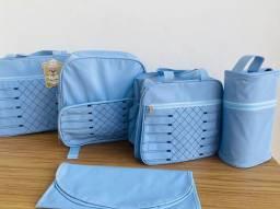 IMPERDÍVEL Liquidações de kitts bolsas maternidade