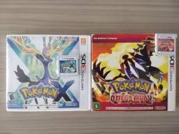 Combo Pokémon: Omega Ruby + X pra 3DS
