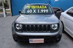 Jeep Renegade Sport 1.8 Prata 2020