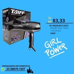 Secador de cabelo Taiff Easy de 1700w de potência