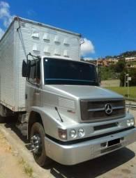 Caminhão Mb 1620 2009 6x2 - Baú 99mil