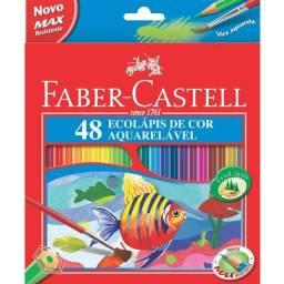 Lápis De Cor Aquarelável 48 Cores Faber Castell