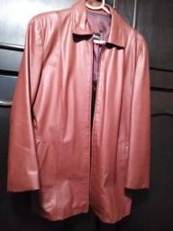 Jaqueta de couro original Tam M feminina