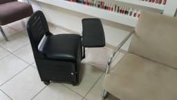 Cadeira de esmalteria