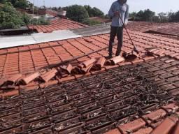 Limpeza de telhado e poda arvore em geral 63 991130860