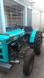 Trator Agrale 4100 e Motor Agrale M90 estacionário