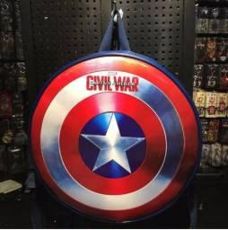 Mochila Capitão América Escudo Vingadores Avangers