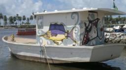 Barco de Pesca e Recreio em Fibra de Vidro - 2014