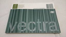 Manual proprietário original novo vectra - 2006 a 2011