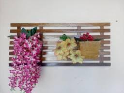Floreira horizontal dois vasos