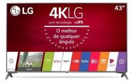 Tv lg 4k modelo uj6565 smart 43 polegadas