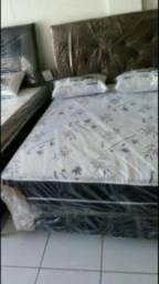 Pronta entrega camas casal espumas box direto da fábrica