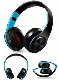 Fone Stereo Bluetooth Alta Potência Luxo
