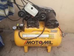 Compressor Motomil / bomba trifásica Lava jato / Aspirador novo