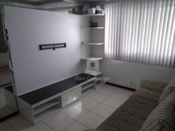 Apartamento mobiliado, piso porcelanato, com 2 dormitórios à venda, 60 m² por R$ 288.000 -