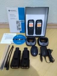 2 rádios Motorola dtr620 profissional completos