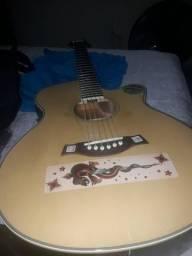 Troco Violão vogga em guitarra