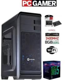 Gamer Pro - i5 8400 8ª Geração - Gtx 1050 - 8Gb DDR4 - 120Gb SSD - Wifi - HDMI - 12x