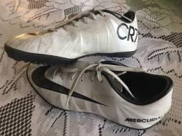 fd4a159bd7 Chuteira Society Nike Mercurial X CR7 n. 35